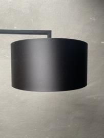 Zwart zwarte kap Lampekap lamp