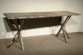 Industriële metalen metaal Sidetable wandtafel tafel keukeneiland werkbank televisiemeubel