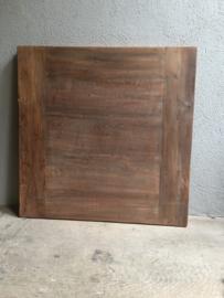 tafelblad gemaakt van oud teakhout 120 X 70 cm blad tafelblad teak dingklin