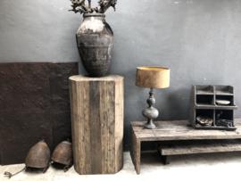 Stoer railway houten tv-meubel dressoir grof ruw hout audiomeubel sidetable televisiekast kast wandmeubel landelijk industrieel