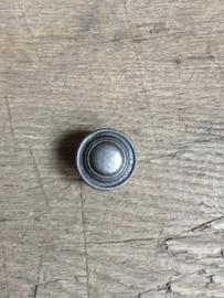 Gietijzeren knopje deurknopje knop grijs grijze metalen metaal landelijk brocant deurbeslag