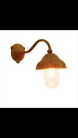 Stallamp koper met glazen stolp Tierlantijn cosali nieuw
