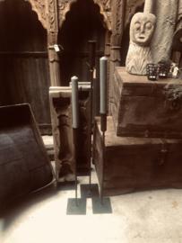 Oude zandstenen pop steen landelijk sober rustiek rustique