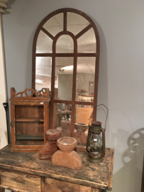 Groot grote stalraamspiegel tuinspiegel spiegel stalraam kozijn venster 120 x 60 cm