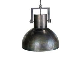 Industrieel zwarte metalen hanglamp fabriekslamp lamp plafondlamp zwart metaal landelijk stoer