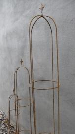 Smeedijzeren ornament obelisk 150 cm