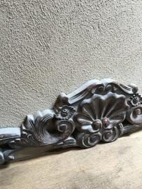 Grijs houten ornament landelijk stoer shabby chique chiq brocant