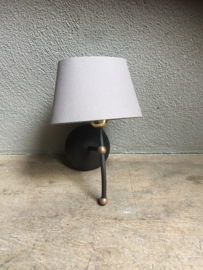 Wandlamp Tierlantijn Rossi wandlampje landelijk bruin roestbruin