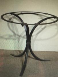 Smeedijzeren tafelonderstel ijzer metaal metalen tafel poot voet tuintafel rond 80 cm 74 cm hoog