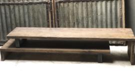 Vergrijsd houten Tv dressoir tv meubel televisiemeubel landelijk stoer
