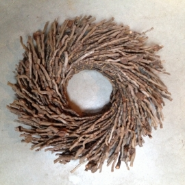 Mooie naturel botay  nestkrans 30 cm