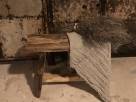 Stoer houten bankje small