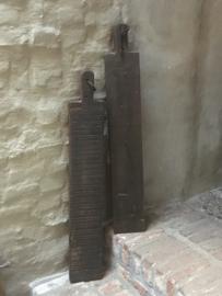 Grote lange smalle plank snijplank hapjesplank stokbroodplank stoer landelijk robuust