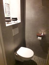 landelijke toiletrolhouder wcrolhouder plankje vintage industrieel metaal hout