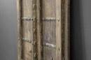 Prachtige grote oude houten deur poort paneel 177 x 79 x 7 cm wandpaneel decoratie landelijk stoer oosters