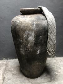 Grote oude pot India XL