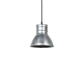 Industriele metalen spot hanglamp industrieel grijs metaal landelijk stoer