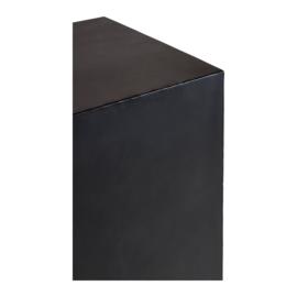 Metalen zuil sokkel pilaar 40 x 40 x 90 cm