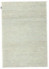 Groot handgewoven 100 % hennep vloerkleed kleed carpet karpet petrol 200 x 140 cm