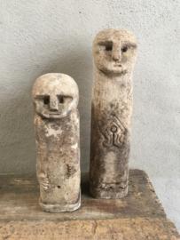 Oude stenen pop poppen steen landelijk sober rustiek rustique