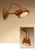 mooie grote koperen spot spotje tierlantijn lupia koper wandspot plafondspot