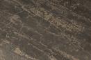 Oud houten kruk vierkant rechthoekig grey black finish landelijk