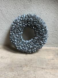 Bakuli wreath krans beukennootjes vergrijsd 40 cm grijs beuk landelijk