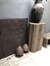 Oude metalen ketel omgebouwd tot Lamp inclusief nieuwe bedrading industrieel vintage landelijk bruin