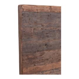 houten tafelblad hout houten blad robuust stoer paneel 120 x 70 cm