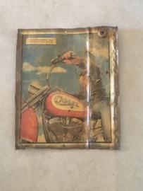 Metalen reclame platen plaat reclamebord Camel vintage retro industrieel