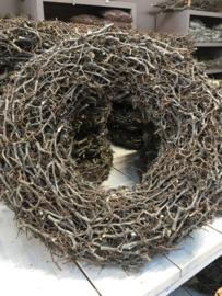 Grote bonsai wild krans naturel landelijke stijl 60 cm