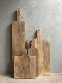 Stoere landelijke oude houten broodplank snijplank landelijk stoer oud hout 70 x 35 cm kaasplank