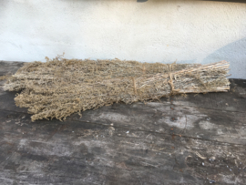 Bundel gedroogd rata lavender lavendel vergrijsd decoratie tak
