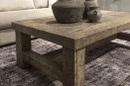 Stoere truckwood salontafel tafel bijzettafel sidetable tv televisiemeubel kast lounge landelijk H45 x 130 x 75 cm