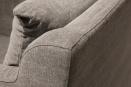 Set van 2 Prachtige stoffen linnen fauteuil fauteuils landelijk sober grijs grijze antraciet graphit