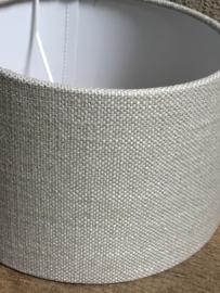 Lampekap lampekapje linnen beige livigno licht 20 cm ton tonnetje tonmodel