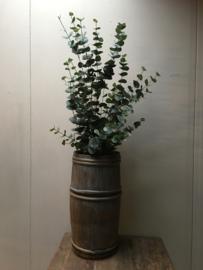 Prachtige grote eucalyptus plant imitatie kunst decoratie 120 cm