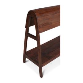 Houten bok standaard kleed plaid rek hout