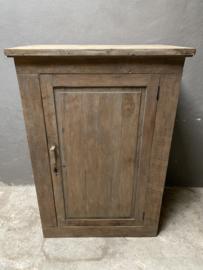 Stoere houten kast boerenkast landelijk stoer robuust Lieke hout aura Peeperkorn