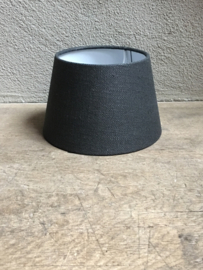 Lampekap lampekapje grijs antraciet donkergrijs zwart grijze antreciet 20 cm ton tonnetje tonmodel