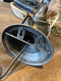 Industriële metalen spot spotje wandlamp lamp spots zwart zwarte old oud oude look industrieel landelijke stijl stoer  wandlamp kap metaal verstelbaar landelijk stoer vintage