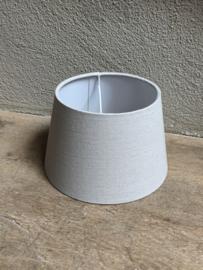 Lampekap lampekapje grijs  licht grijze almeria 20 cm ton tonnetje tonmodel