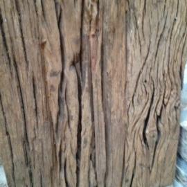 Grof houten dienblad tray wagon plateau M schaal railway plank met hengsels
