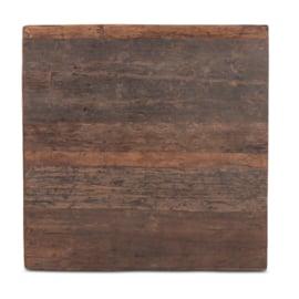 houten tafelblad hout houten blad robuust stoer paneel 120 x 80 cm
