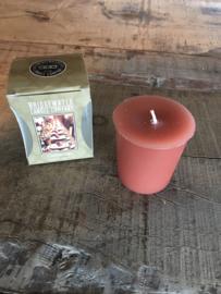 Heerlijke geurkaars kaars bridgewater gathering appel kaneel 5 branduren