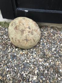 Grote oude antieke bol bal deurstop ornament 50/60 kg gewicht