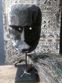 Houten masker oud