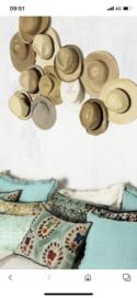 Hele gave mintgroene Sidetable ladekast buro bureau make-uptafel kast sideboard  Ibiza landelijk stoer turquoise