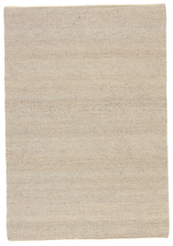 Groot handgewoven 100 % vervilt wol vloerkleed kleed carpet karpet beige 350 x 250 cm