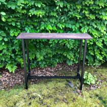 Ijzeren consoletable tafel sidetable werkbank industrieel vintage landelijk tafel